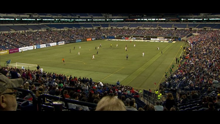 Indy Eleven plays Lucas Oil opener in front of 17,000