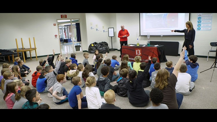 Weather Academy: Angela Buchman, Chuck Lofton talk severe weather at Acton Elementary