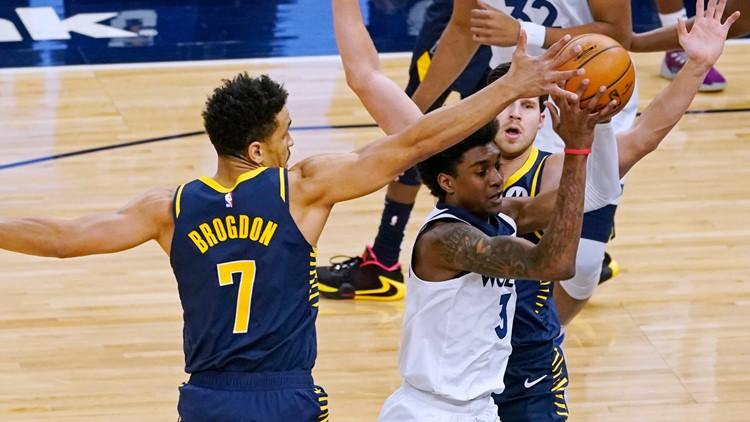 Sabonis, Brogdon lead Pacers past Timberwolves 134-128 in OT