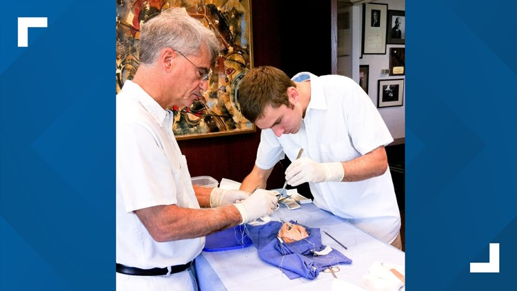 Indianapolis heart surgeon and son appear on 'TODAY' to share unique bond