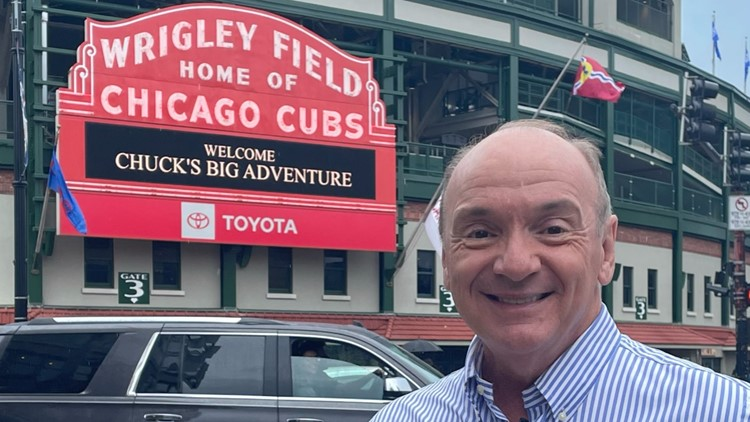 Chuck's Chicago Adventure: Wrigley Field