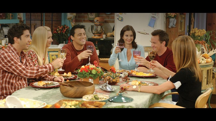 Friends Thanksgiving Themed Episodes Heading To Theaters Wthr Com