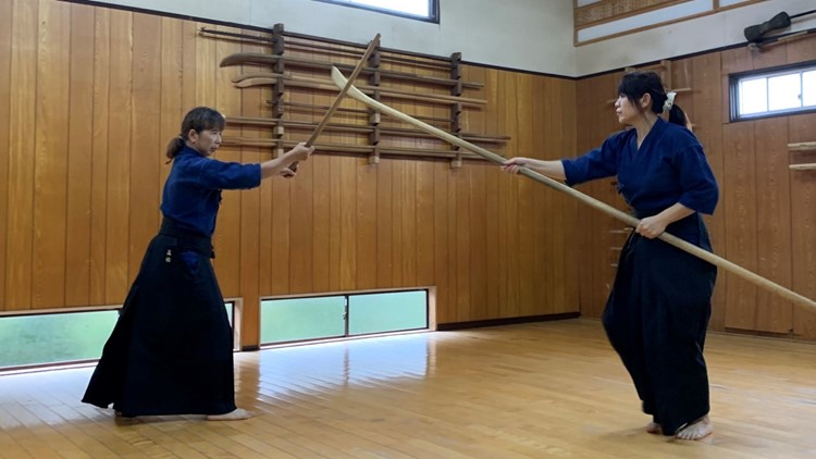 Sword-fighting skills have their roots in ancient Japan