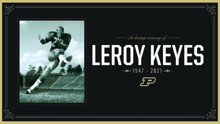 Purdue football icon Leroy Keyes dies at 74