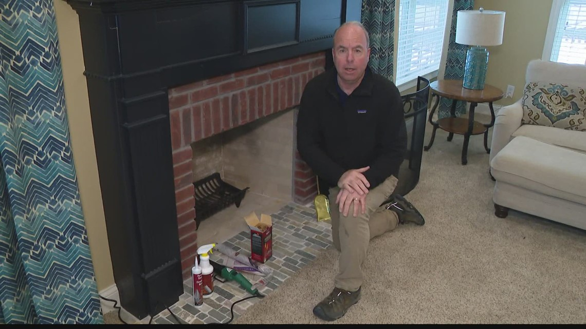 Pat Sullivan: Staying warm by the fireplace