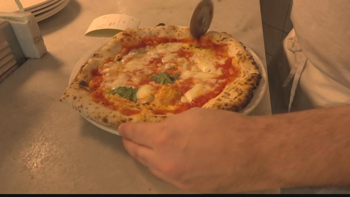 Chuck's Big Adventure: Pizza tour
