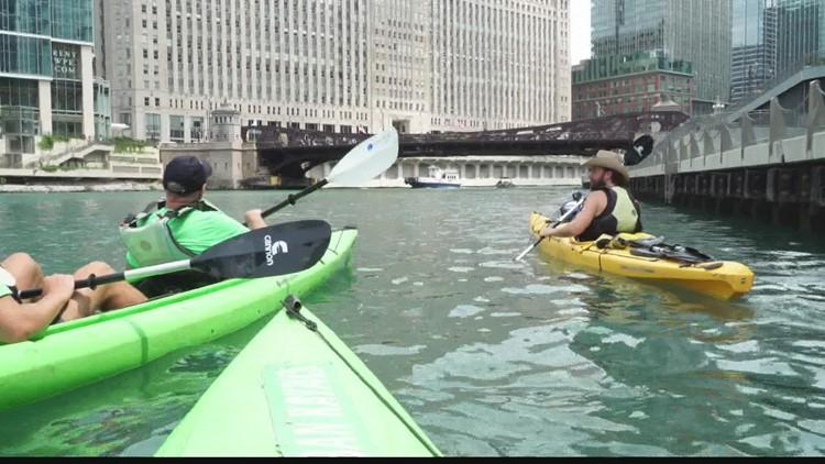 Chuck's Big Adventure: River kayak tour