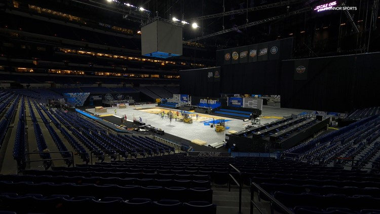 From Michigan's 'UP' to Indianapolis: Meet the company behind the Final Four court
