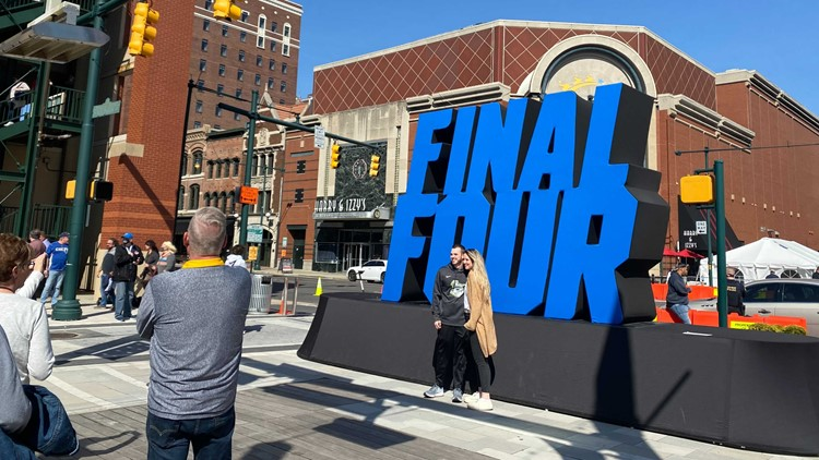 Downtown Indianapolis celebrates Final Four weekend