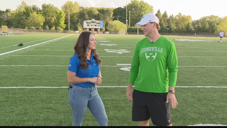 Operation Football 'Into the Red Zone': Zionsville Community High School