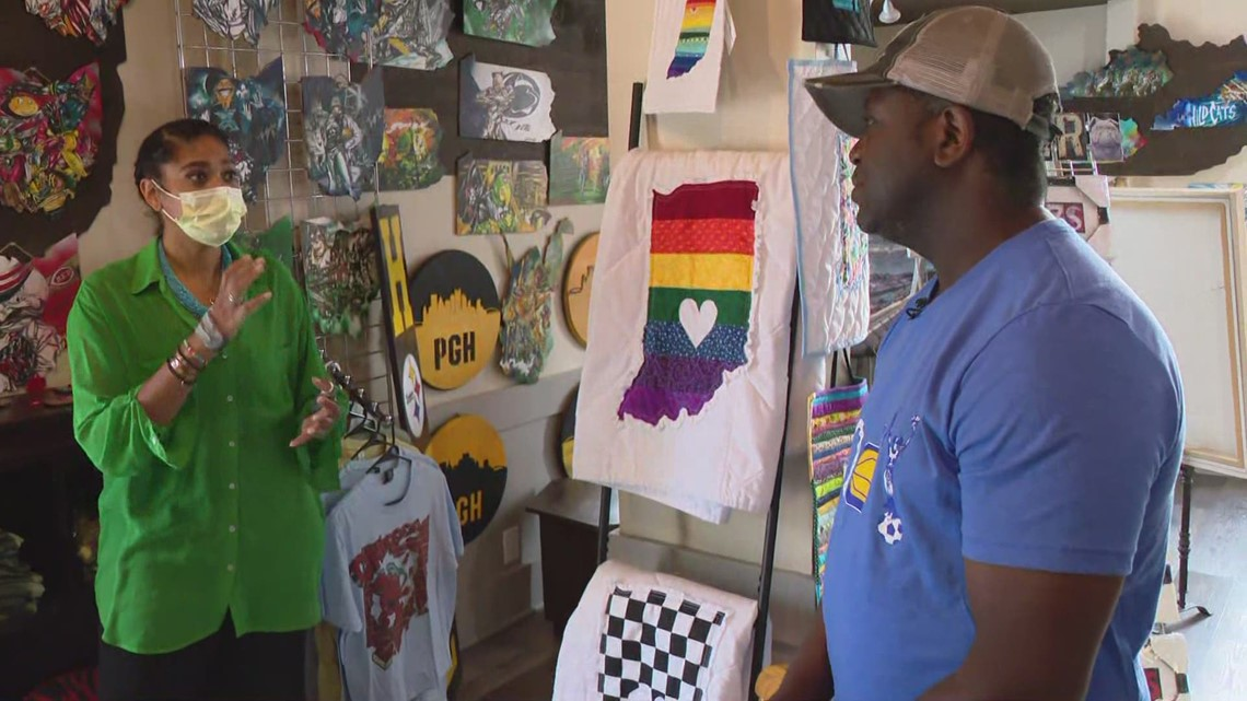 Local business featuring local artists launches