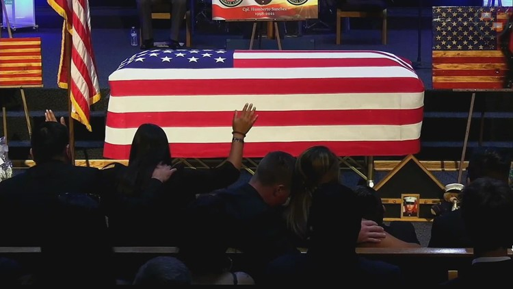 Cpl. Humberto Sanchez laid to rest in Logansport