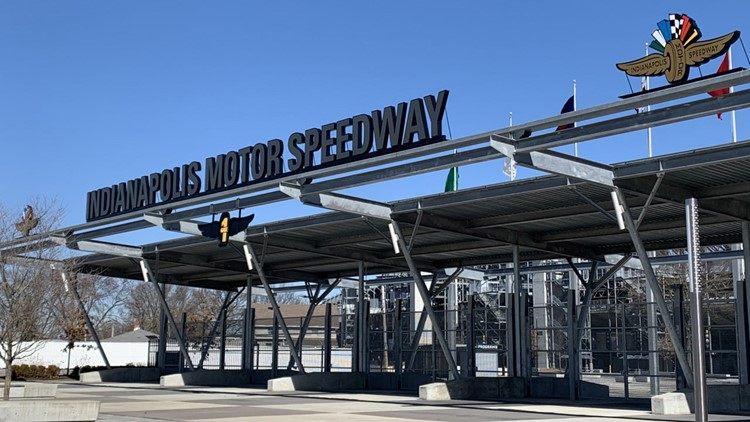 Indianapolis Motor Speedway hosting first of 3 drive-thru vaccination clinics