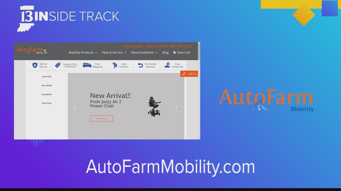 13INside Track gets a lift from AutoFarm Mobility's lift-chairs