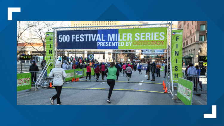 500 Festival's 2021 Miler Series to be virtual