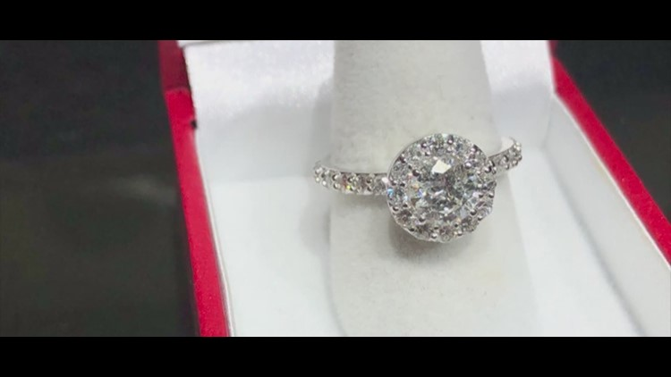 Jeweler Offering 2 4 Carat Diamond Engagement Ring To Military Couple With Best Story Wthr Com