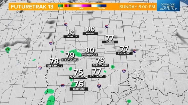 Live Doppler 13 Weather Blog: Rain, storms precede major temp drop