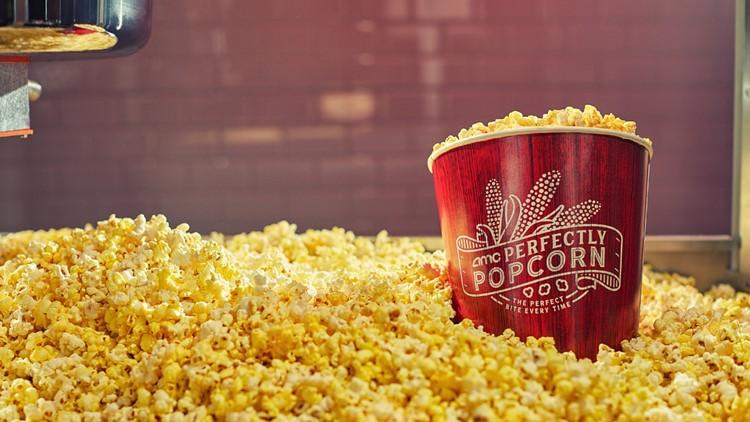 AMC Theatres offering free popcorn refills to celebrate Cinema Week