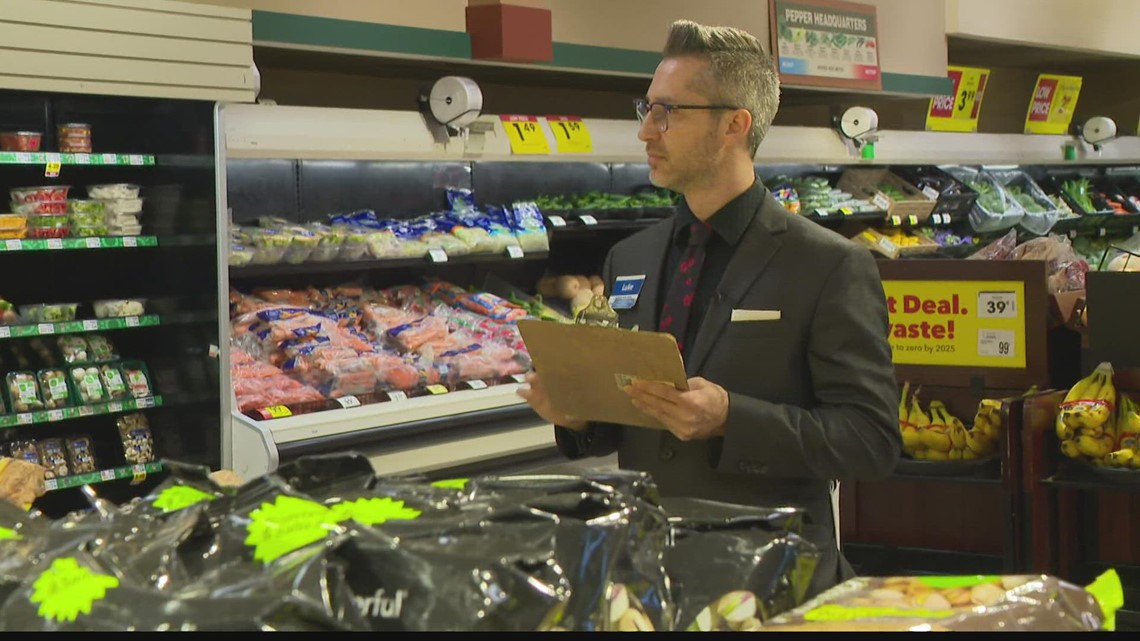 Indianapolis man rising through the ranks at Kroger store after being furloughed due to COVID-19 pandemic