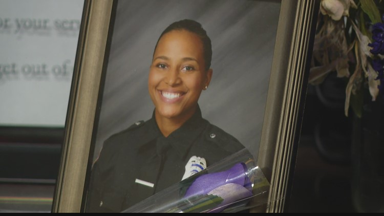 IMPD partners with American Red Cross to host blood drive honoring Officer Breann Leath