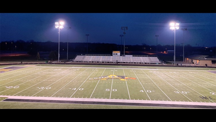 Indiana high schools turn on stadium lights to honor coach Phillip Bowsman