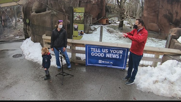 Tell us your good news: Return to the Indianapolis Zoo