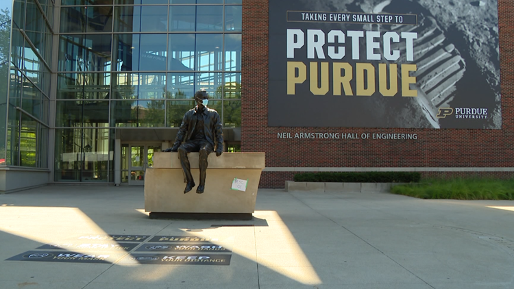Purdue warns 300 students, employees over COVID-19 policy