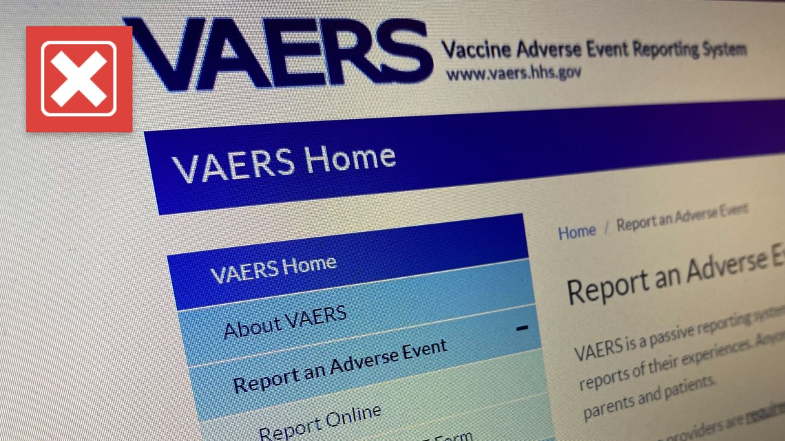 No, the CDC's VAERS database does not show thousands of people have died from COVID-19 vaccines