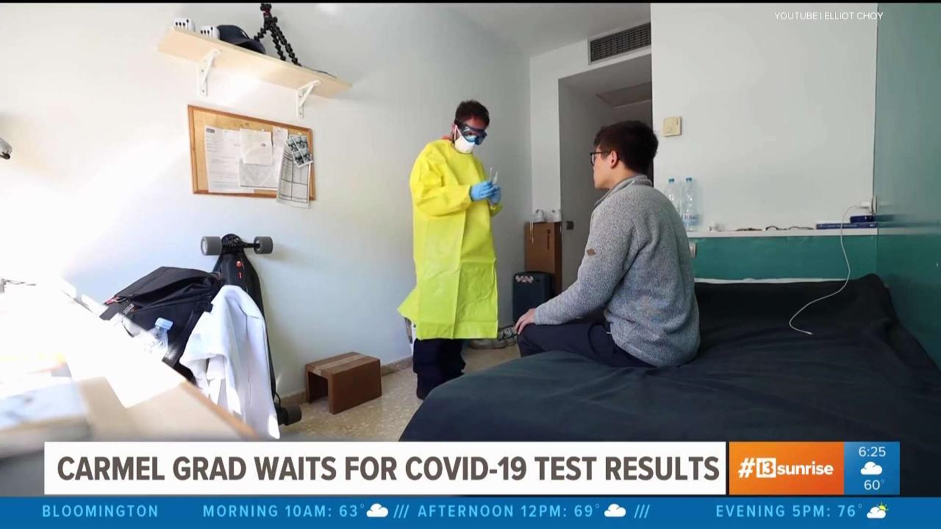Carmel Grad Self Isolating After Exposure To Covid 19 While Studying Abroad Wthr Com Start topics with the fans and the beautiful man, elliot choy. carmel grad waits for covid 19 test results