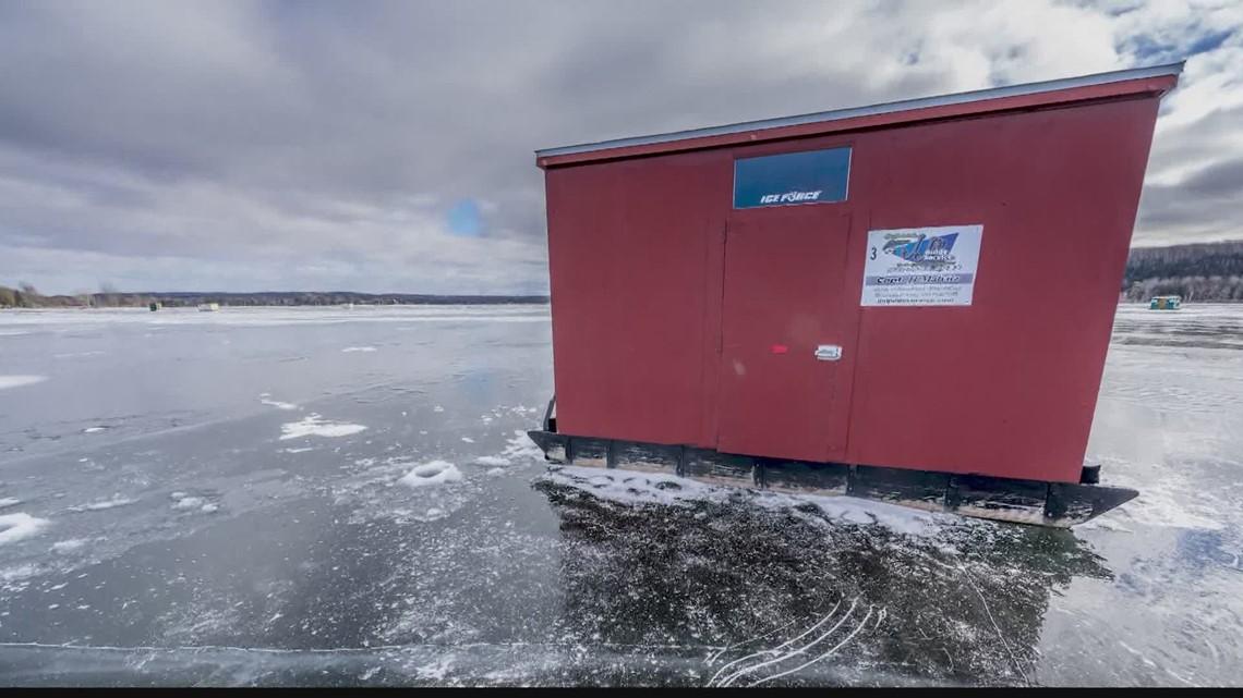 Chuck's Wisconsin Wonderland Adventure: Ice fishing