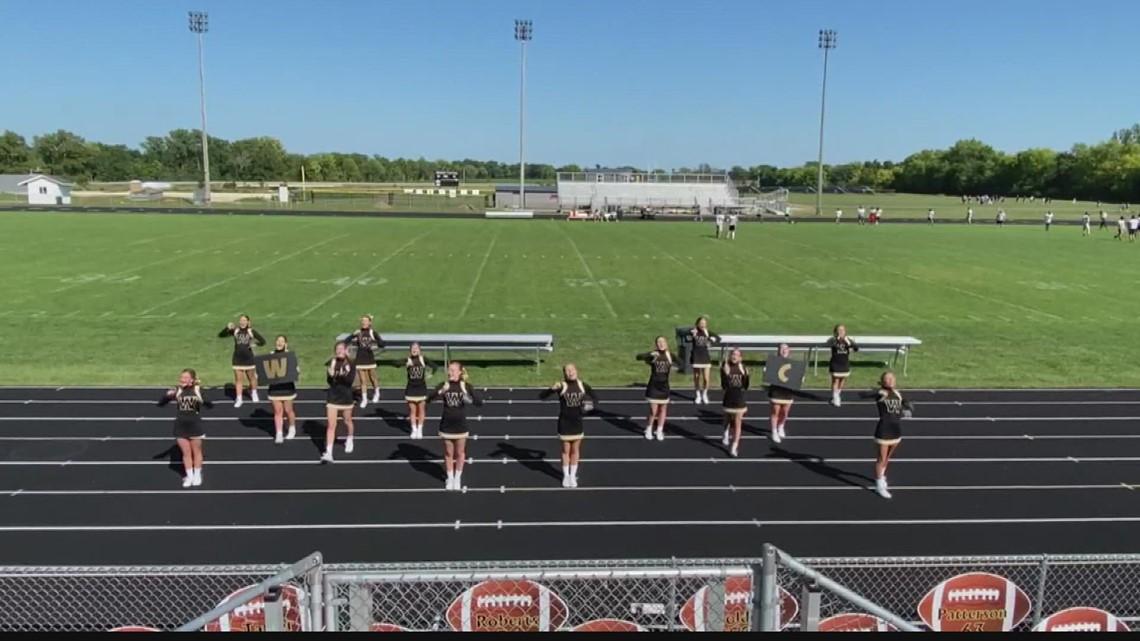 Operation Football Cheerleaders of the Week: Winchester High School