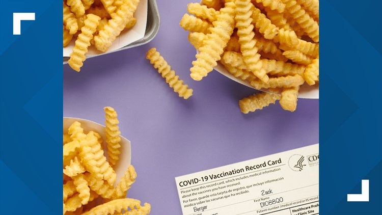 You can get free fries at Shake Shack for being vaccinated against COVID-19