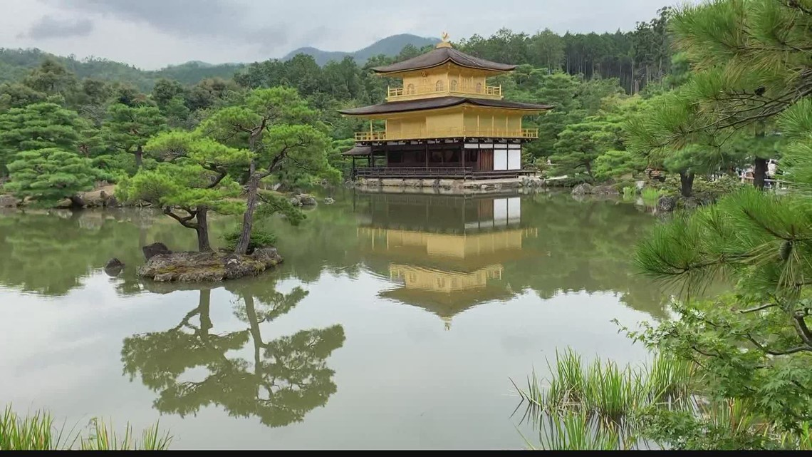 Golden Pavilion is a must see attraction in Japan