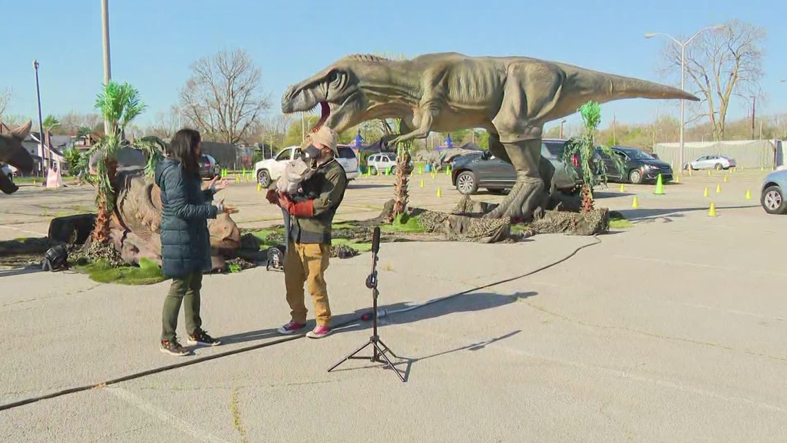 Jurassic Quest opens at State Fairgrounds