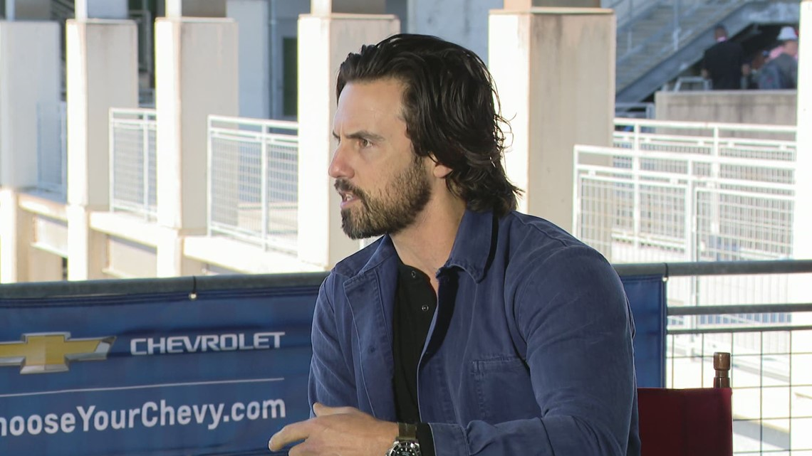 'This is Us' Star Milo Ventimigla is ready to wave the green flag at the Indianapolis 500