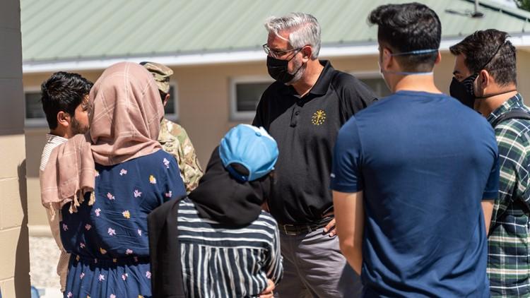 Gov. Holcomb announces donation efforts for Afghan refugees