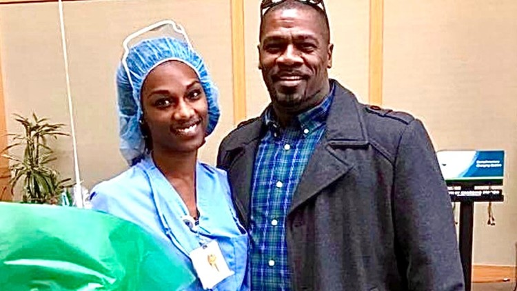 Nurse saves her father after he goes into cardiac arrest