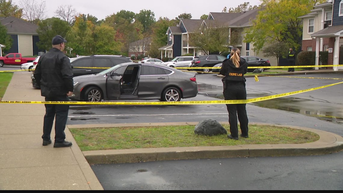 1 dead in shooting at Indianapolis apartment complex