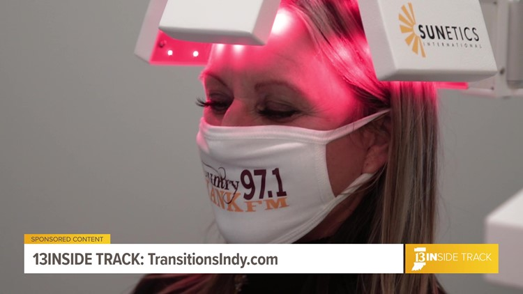 13INside Track meets a Transitions of Indiana hair restoration patient