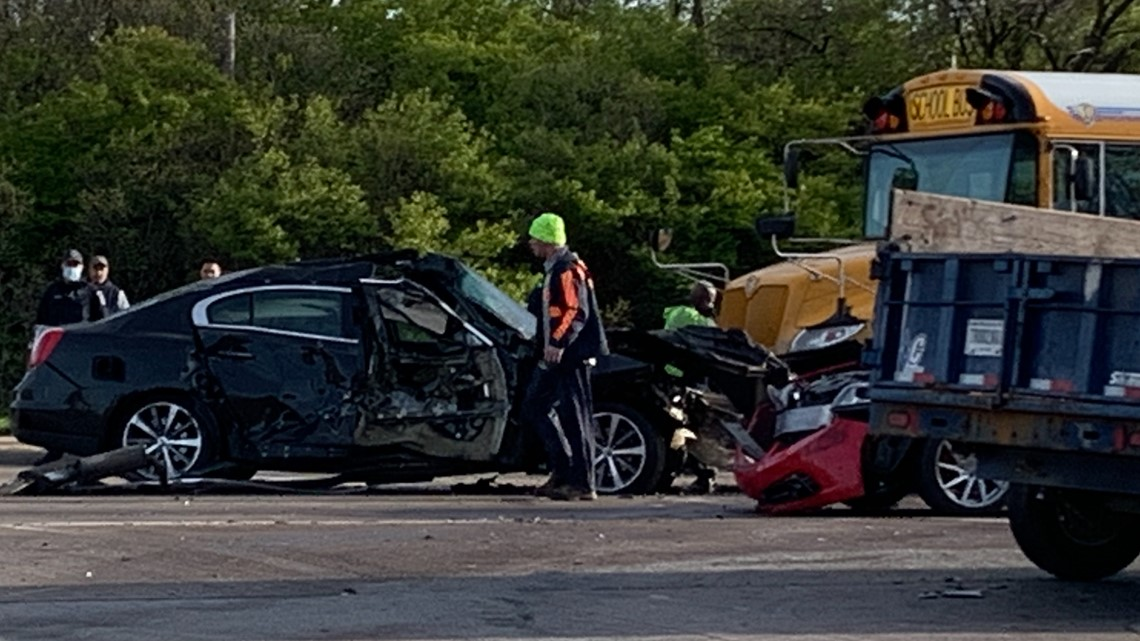 IMPD investigating after IPS school bus involved in crash