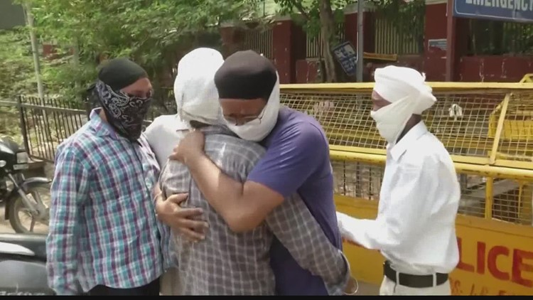 Hoosiers help India hospitals battle COVID-19 pandemic
