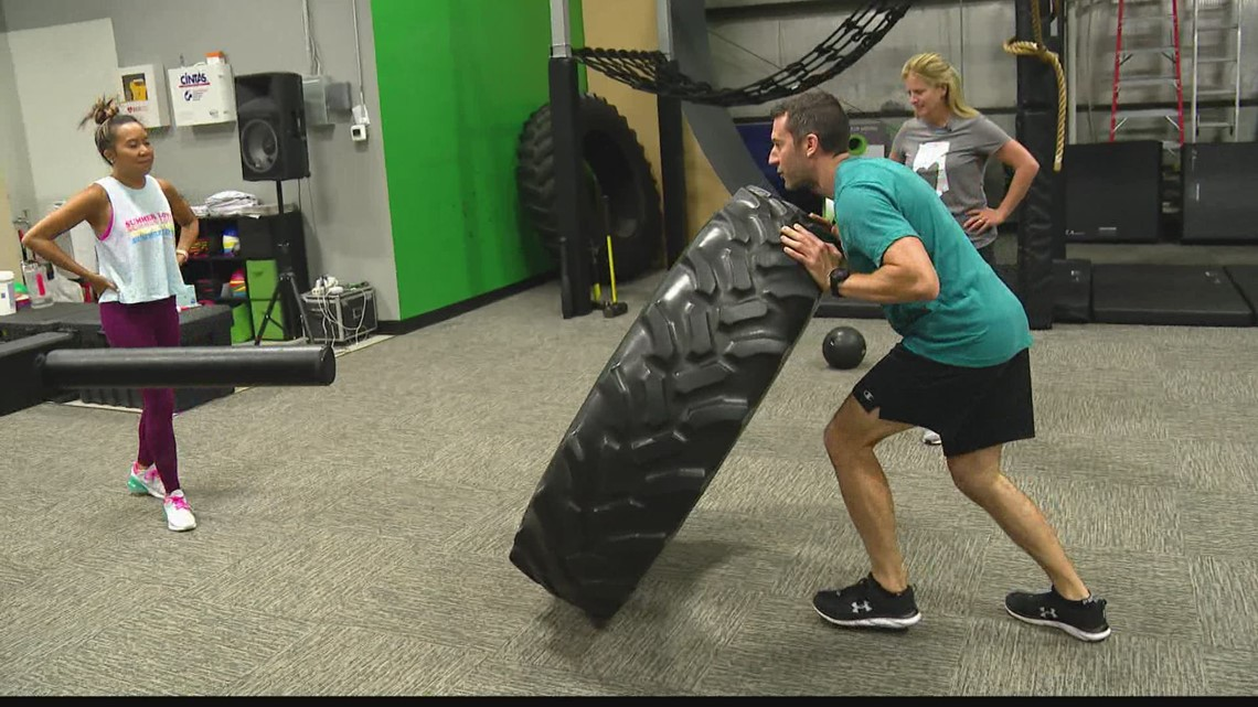 Friday Fit Tip: Tire Flip Burpee