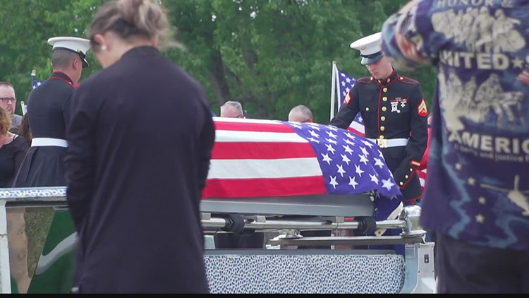 Indiana Marine laid to rest