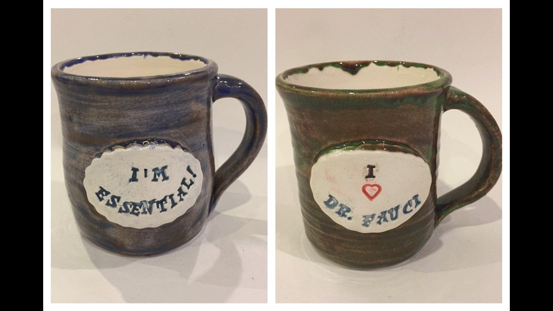 Fountain Square Ceramics Studio Owner Creates Coronavirus Inspired Mugs And Magnets Wthr Com