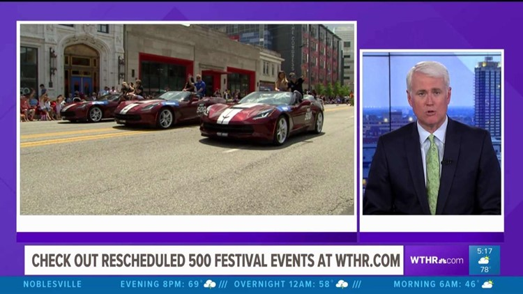 500 Festival events rescheduled