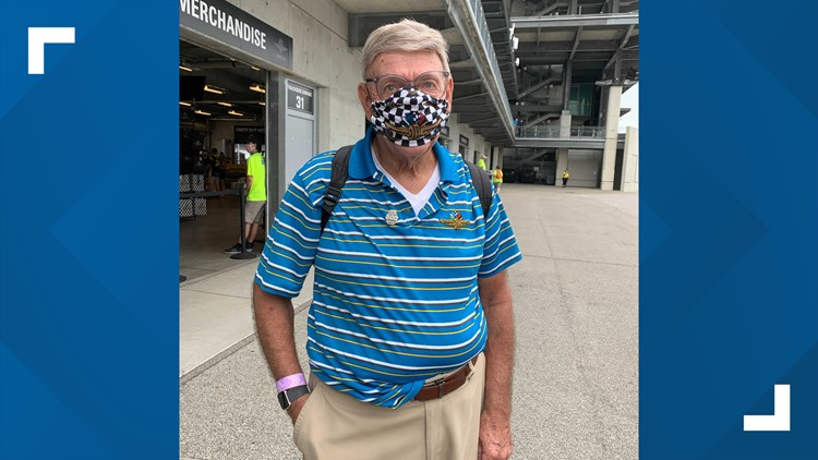 'As close to a record as we have'   Race fan gears up for his 74th consecutive Indy 500