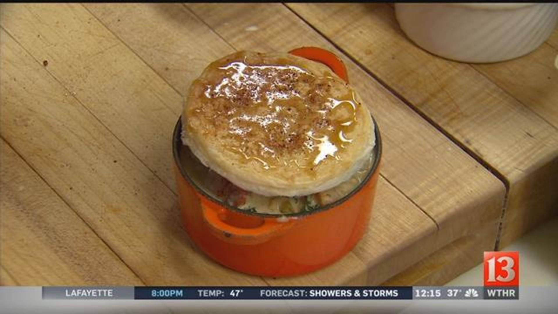 OAKLEYS Bistro: Lobster Pot Pie