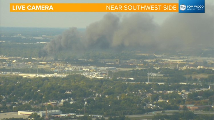 Live Doppler 13 Weather Blog: Smoke from tow yard fire impacts air quality