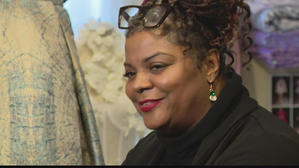 Indy fashion designer is blazing trails