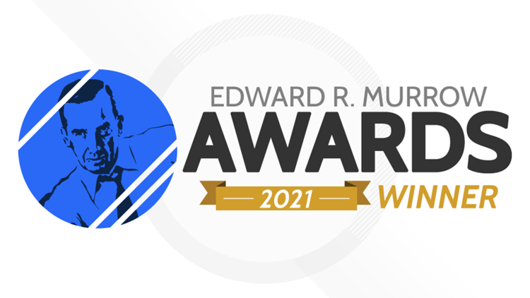 13News honored with 3 regional Edward R. Murrow Awards